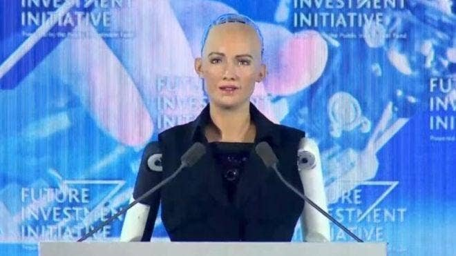 Sophia the robot: Saudi Arabia grants robot citizenship